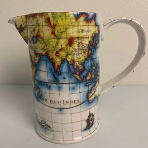 Globe Pitcher By Paul Cardew Designed in England